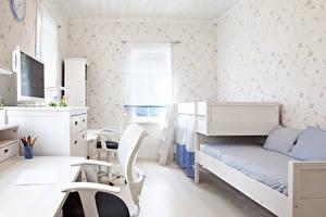 Картинка Интерьер Детская комната Дизайн Диван