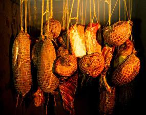Фото Мясные продукты Ветчина Еда