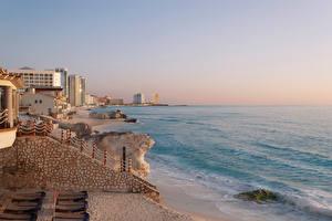 Фотография Мексика Берег Дома Залива Cancun