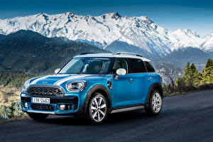 Фото Мини Голубой 2017 Cooper S Countryman ALL4 Exterior Optic Pack Worldwide