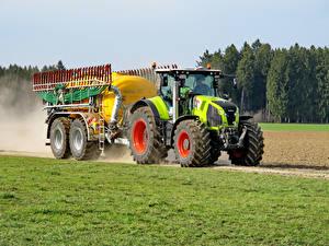 Фотографии Сельскохозяйственная техника Трактор 2013-17 Claas Axion 830