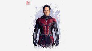 Картинки Человек-муравей (фильм) Мстители: Война бесконечности Серый фон Ant-Man Кино