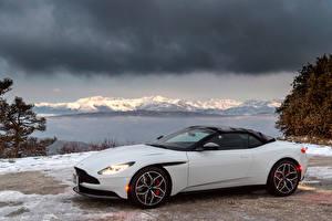 Фотографии Aston Martin Белый Металлик 2019 DB11 V8 Volante