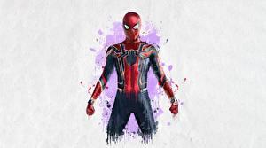 Фотографии Мстители: Война бесконечности Человек паук герой Рисованные Фильмы