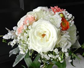 Обои Букеты Розы Цветы