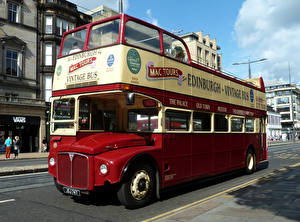 Фотографии Автобус Винтаж AEC Routemaster R2RH Park Royal