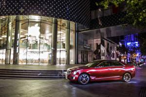 Фотография Cadillac Красный Металлик 2015 ATS-L Машины