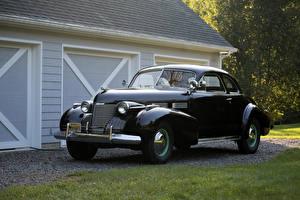 Фото Кадиллак Винтаж Черный Металлик 1940 Sixty-Two Coupe Авто