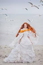Фотографии Берег Рыжая Невеста Платье