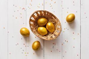 Фото Пасха Яйца Золотой Продукты питания