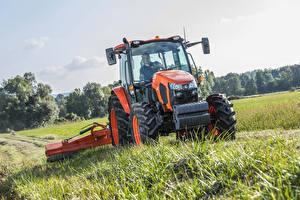 Картинка Поля Сельскохозяйственная техника Трактор 2016-17 Kubota M5111