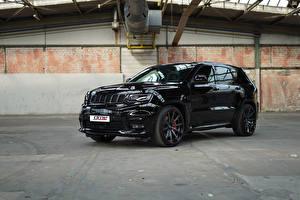 Фотография Джип SUV Черный Металлик 2018 GME Grand Cherokee SRT Авто