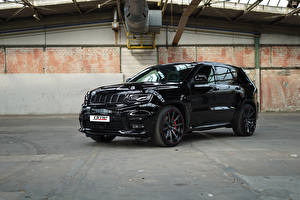 Фотография Джип SUV Черная Металлик 2018 GME Grand Cherokee SRT машины