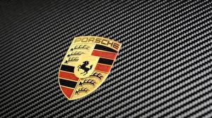 Картинки Логотип эмблема Porsche GT2 RS 911 2018 Машины