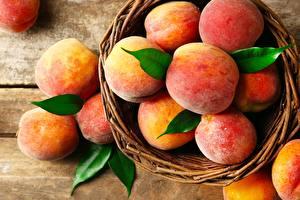 Обои Персики Вблизи Пища