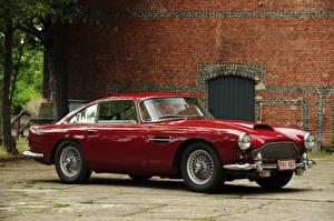 Фото Винтаж Астон мартин Металлик Красный 1960-61 DB4 Worldwide Touring Авто