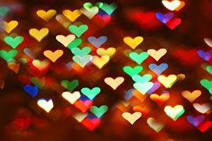 Обои День святого Валентина Сердце Еда картинки