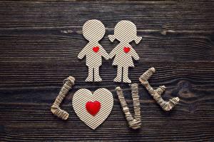 Фотографии День святого Валентина Любовь Сердце