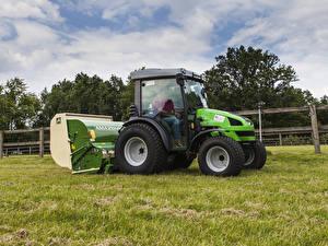 Обои Сельскохозяйственная техника Трактор 2007-15 Deutz-Fahr Agrokid 220