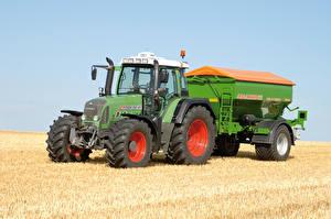 Обои Сельскохозяйственная техника Поля Трактор 2006-11Fendt 716 Vario Worldwide