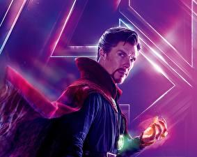 Фотография Мстители: Война бесконечности Камбербэтч Бенедикт Мужчины Doctor Strange кино Знаменитости