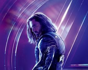 Обои Мстители: Война бесконечности Мужчины Sebastian Stan Кино