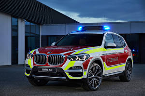 Фотография BMW Пожарный автомобиль Стайлинг 2018 X3 xDrive20d Feuerwehr машины
