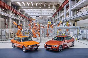 Фото BMW Ретро 2 Металлик Оранжевых 1975-2017 Serie 3 машина
