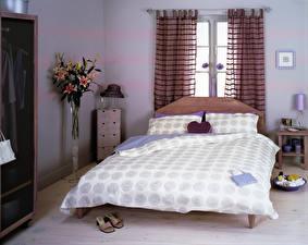 Картинки Интерьер Дизайн Спальня Кровать