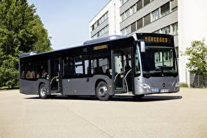 Обои Мерседес бенц Автобус 2017-18 Citaro Hybrid