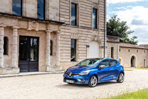 Картинка Renault Металлик Синяя 2016 Clio GT Line Автомобили