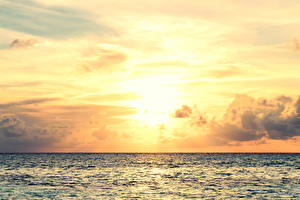 Обои Море Небо