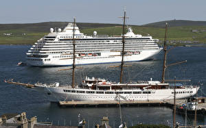 Фото Корабли Круизный лайнер Парусные