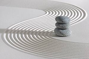 Фотография Камень Песок zen