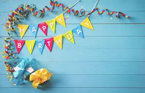 Фотографии День рождения Бумага Доски