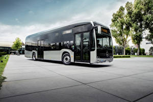 Картинки Автобус 2018 Mercedes-Benz eCitaro
