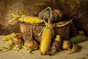 Картинки Кукуруза Натюрморт