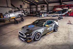 Обои Ford Тюнинг Серый 2018 Eagle Squadron Mustang GT Автомобили