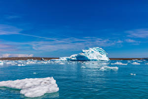 Картинки Исландия Речка Auster-Skaftafellssysla Природа