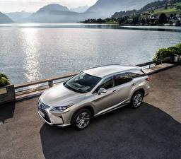 Картинка Lexus 2018 RX 450hL Worldwide Автомобили