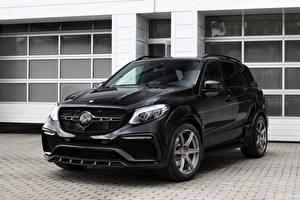 Фотографии Mercedes-Benz Черный Металлик 2016 TopCar GLE-Klasse Inferno Машины
