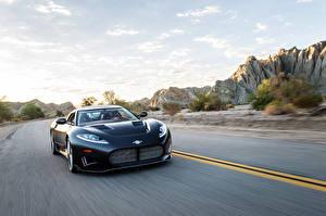 Обои Спайкер Едущий 2016 C8 Preliator Concept Авто