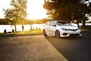 Обои Toyota Белый Металлик 2017 Corolla iM Автомобили картинки