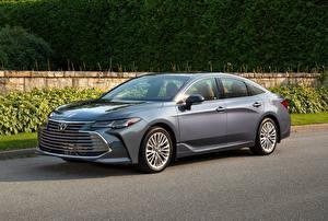 Обои Toyota Серый 2019 Avalon Limited Автомобили картинки