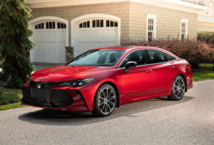 Обои Toyota Красный 2019 Avalon XSE Автомобили картинки