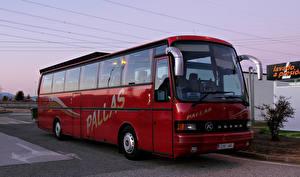 Фото Автобус Бордовый SETRA S 215 HD MAN Авто