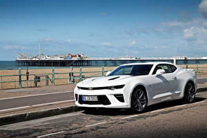 Фотографии Chevrolet Белый Camaro