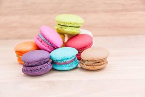 Картинка Печенье Макарон Продукты питания
