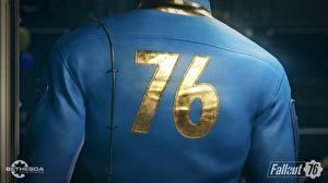 Картинка Fallout Вблизи Спина 76 Игры