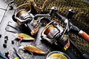 Фотография Ловля рыбы Удочка Вблизи
